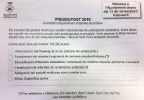 Els veïns d'Ulldecona trien quina inversió de 100.000 euros volen