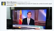 Un tuit del tenista rapitenc Albert Montañés sobre Rajoy encén les xarxes