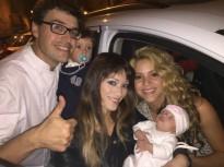 Shakira i Piqué celebren el bateig del seu segon fill a l'Hostal Colomí