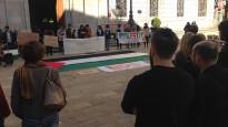 Tornen el «No a la guerra» i «OTAN no, bases fora», amb Palestina i Síria