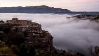 «Mar de núvols després d'escalar a Siurana» a National Geographic