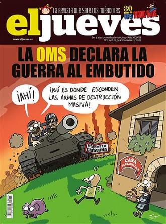 Casa Tarradellas disposa d'armes de destrucció massiva, diu «El Jueves»