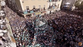 El vídeo en 360 graus de la millor actuació castellera de la història