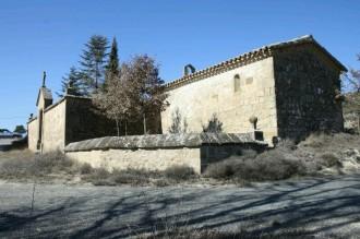 Capella de Santa Magdalena. Annexa al cementiri de  Pinós