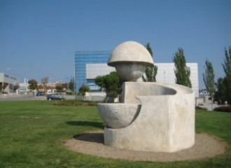 Qui coneix l'escultura El Bicicle de l'Aigua de Terrassa?