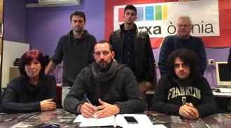 Jaume Moya serà el candidat d'En Comú Podem a Lleida pel 20-D