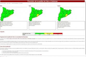 Vés a: Noves eines per a la previsió de la contaminació a la conurbació de Barcelona
