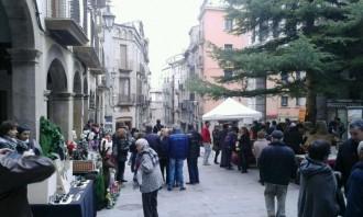 Solsona fa créixer el mercat nadalenc dels artesans amb la Fira del Tió