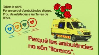 Manifestació diumenge a 'Lo Passador' per defensar un servei d'ambulàncies digne a les Terres de l'Ebre
