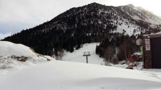 La neu i la baixada de temperatures fa créixer l'optimisme a les pistes d'esquí