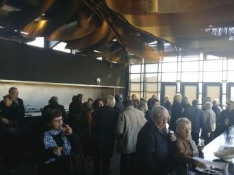 Cent cinquanta turistes francesos han visitat aquest diumenge Hostalric