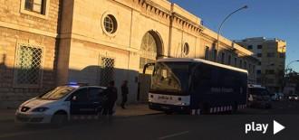 Culmina sense incidents el trasllat dels interns cap a la nova presó del Catllar