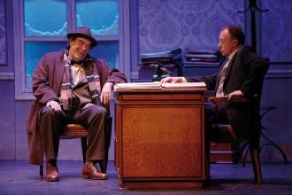 El grup de teatre Els Carlins porta «L'art de la comèdia» al Kursaal