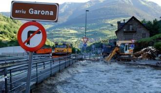 Alerta al Pirineu lleidatà per la previsió de fortes pluges que poden fer créixer els cabals dels rius