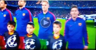 VÍDEO Nova xiulada a  l'himne de la Champions al Camp Nou