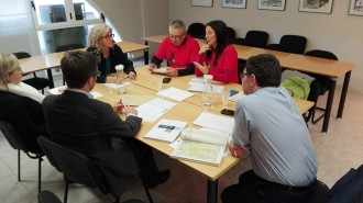 Primera reunió de treball entre Generalitat i Trens Dignes per incidir en la millora del transport ferroviari