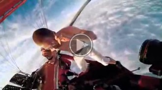 VÍDEO El salt impossible: es llança des de 4000 metres sense paracaigudes