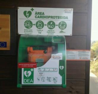 El CTFC instal·la un equip de cardioprotecció