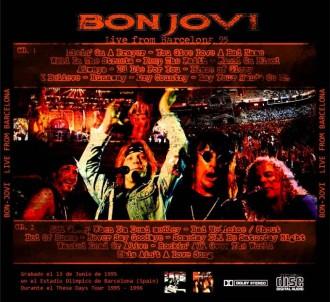 BON JOVI 13-06-1995: La nit que BCN es va deixar seduir.