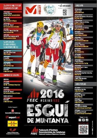 Publicat el calendari de competicions d'esquí de muntanya 2015-2016