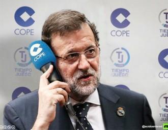 Les millors bromes sobre Rajoy fent de comentarista esportiu a la COPE