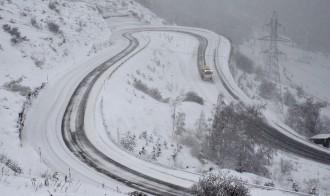 La neu obliga a tancar el Port de la Bonaigua