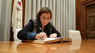 Carme Forcadell: «Espero que molt abans del 9 de gener hi hagi acord»