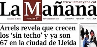 «Arrels revela que creixen els sense sostre a Lleida»,  a La Mañana