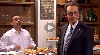 VÍDEO Aconseguirà Artur Mas esmorzar un croissant de xocolata a «Polònia»?