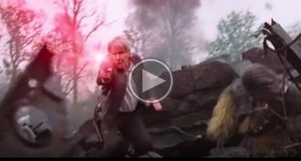 VÍDEO El nou tràiler de «Star Wars» on Han Solo obre foc