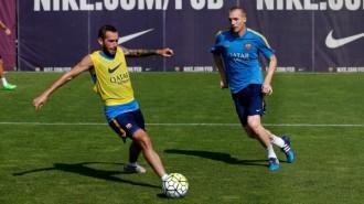 Aleix Vidal, a les portes de fer història debutant amb el Barça