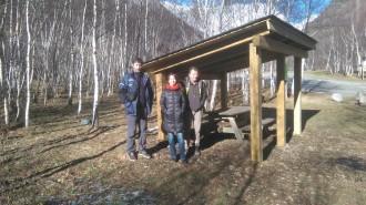 Inaugurat un aixopluc per a pescadors i visitants a la vall de Tavascan