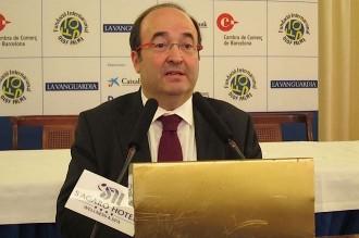 Miquel Iceta creu que el país està en el «camí del desastre»