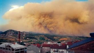 Endesa haurà de pagar 45 milions pels incendis a la Catalunya Central del 1994