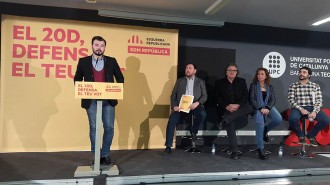 ERC presenta «l'últim programa electoral per a unes espanyoles»