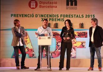 La Diputació de Barcelona distingeix la tasca de l'ADF Montseny Ponent