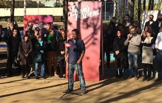 Xavier Domènech defensa la celebració d'un referèndum «amb urgència»