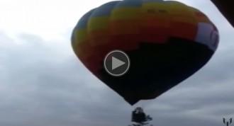 Vés a: VÍDEO Soraya pateix un accident en un globus dirigit per un independentista d'Igualada