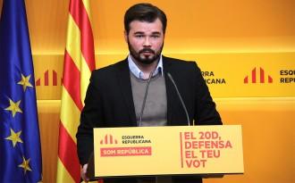 Gabriel Rufián afirma que «sense Mas» no hi haurà independència