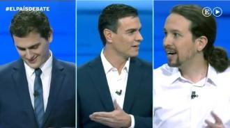 Pedro Sánchez i Albert Rivera coincideixen en què fer un referèndum és «llançar la tovallola»