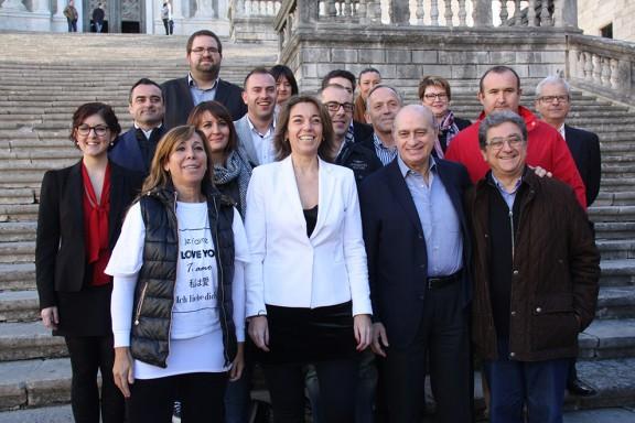 Fernández Díaz presenta a Girona la llista del PP per a les eleccions del 20-D