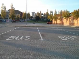 L'Ajuntament de Sant Celoni projecta modificar l'aparcament del pavelló