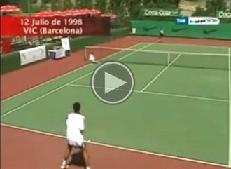 Recordeu Rafa Nadal, jugant el 1998 al Club Tennis Vic...