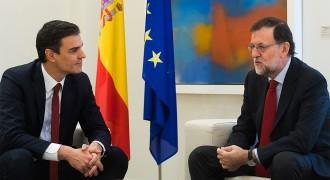 Rajoy i Sánchez es reuniran amb la unitat d'Espanya com a únic punt d'acord