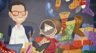 Vic Comerç converteix els comerciants en dibuixos animats per Nadal