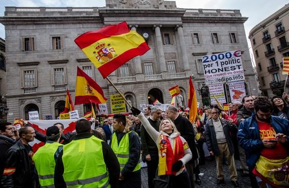 El Dia de la Constitució a Barcelona