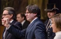 EN DIRECTE Presa de possessió del govern Puigdemont