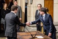 Carles Mundó ja és el conseller de Justícia del nou Govern de Puigdemont
