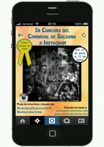Aquest dissabte s'obre el 3r Concurs del Carnaval de Solsona a Instagram