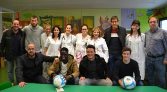 El CF Reus Deportiu se suma a la lluita contra el càncer de la mà de l'AECC